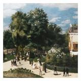 Ballade au parc Prints by Auguste Renoir