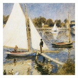 La scéne à Argenteuil Posters by Auguste Renoir