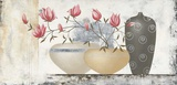 Pink Magnolias II Poster par David Sedalia
