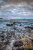 Moody Morning Seascape, East Kauai Hawaii Photographic Print by Vincent James