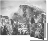 Misty Half Dome at Yosemite, California Print by Vincent James
