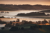 First Light in the Petaluma Hills, Northern California Photographic Print by Vincent James