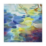 Ornamental Pond 3 Giclee Print by Helen Wells
