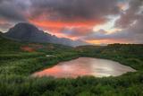 Sunset Glow at Menehune Fishpond, Kauai Hawaii Photographic Print by Vincent James