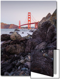 View From The Rocks II, Golden Gate Bridge, San Francisco Prints by Vincent James