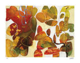 Leaves of Fall Giclee Print by Liz Barber