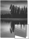 Sparks Lake Early Mood, Bend Oregon ポスター : ビンセント・ジェイムズ
