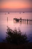 Sunrise at China Camp, San Pablo Bay California Photographic Print by Vincent James