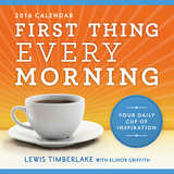 First Thing Every Morning - 2016 Boxed Calendar Calendars