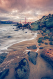 Blustery Day at Golden Gate Bridge, San Francisco Photographic Print by Vincent James