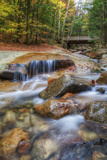 Peaceful Autumn Stream, White Mountain New Hampshire Photographic Print by Vincent James