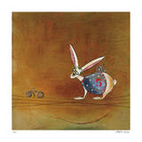 Hare Today Giclee Print by Stacy Dynan