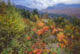 Autumn Colors Viewpoint, White Mountain New Hampshire Photographic Print by Vincent James