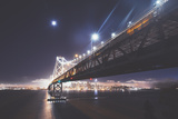 Bay Bridge by Moonlight, San Francisco Photographic Print by Vincent James