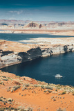 Houseboat at Lake Powell, Page Arizona Photographic Print by Vincent James
