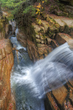 Awesome Sabbaday Falls, White Mountain New Hampshire Photographic Print by Vincent James