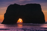 Sunset at Elephant Rock, Mendocino Coast California Photographic Print by Vincent James
