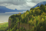 Vista House at Columbia River Gorge, Oregon Photographic Print by Vincent James