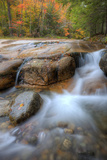 Autumn Stream at Table Rock, New Hampshire Photographic Print by Vincent James