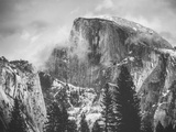 Misty Half Dome at Yosemite, California Metal Print by Vincent James
