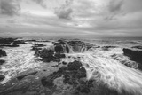 Moody Seascape at Thor's Well, Oregon Coast Photographic Print by Vincent James