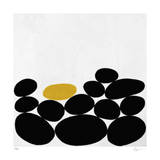 One Yellow Stone Giclee Print by Yuko Lau