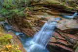 Autumn Scene at Sabbaday Falls, White Mountain New Hampshire Photographic Print by Vincent James