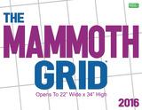 Mammoth Grid - 2016 Calendar Calendars
