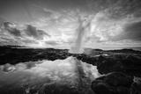 Sunrise at Spouting Horn, South Kauai Photographic Print by Vincent James