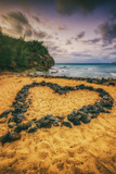 Beach Love, South Kauai, Poipu,. Hawaii Photographic Print by Vincent James