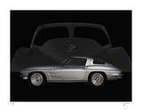 63 Corvette Giclee Print by Breck Rothage