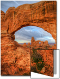 View Throught the North Window, Arches Utah Poster by Vincent James