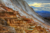 Moody Canary Springs, Yellowstone Wyoming Photographic Print by Vincent James