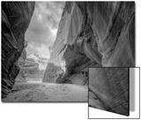 Inside Buckskin Gulch, Southwest Utah Posters av Vincent James