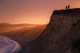Sunset Bluff Walk, Point Reyes California Photographic Print by Vincent James