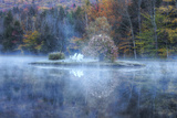 Reflections at Indian Head, New Hampshire Photographic Print by Vincent James