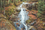 Beaver Creek Cascades in Autumn, New Hampshire Photographic Print by Vincent James