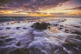 Moody East Kauai Sunrise, Hawaii Photographic Print by Vincent James
