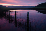 Pre Dawn in the Petaluma Hills, Sonoma County Photographic Print by Vincent James