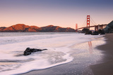 Morning at Marshall Beach, Golden Gate Bridge, California Photographic Print by Vincent James