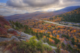 Autumn Road Through the White Mountains, New Hampshire Photographic Print by Vincent James