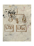 Untitled (God - Law) Giclee Print by Jean-Michel Basquiat