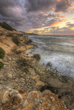 Sunset Drama at Shipwreck Beach, Kauai Hawaii Photographic Print by Vincent James