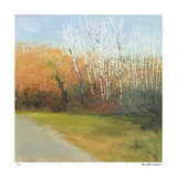 Autumn Stroll Giclee Print by David Skinner
