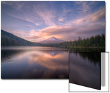 Cloudscape Reflection at Trillium Lake, Oregon Posters by Vincent James