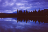 Moody Morning at Sparks Lake, Bend Oregon Photographic Print by Vincent James