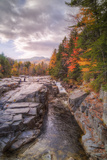 Autumn at Rocky Gorge, Kancamagus New Hampshire Photographic Print by Vincent James