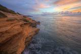 Jagged Cliffs at Shipwreck Beach, Kauai Hawaii Photographic Print by Vincent James