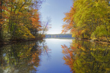 Reflections at Little Squam Lake, Holderness New Hampshire Photographic Print by Vincent James