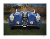 Blue Delahaye Giclee Print by Breck Rothage